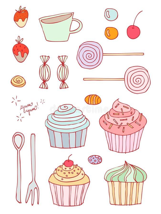 Download Suikergoed vector illustratie. Illustratie bestaande uit gastronomisch - 29507393