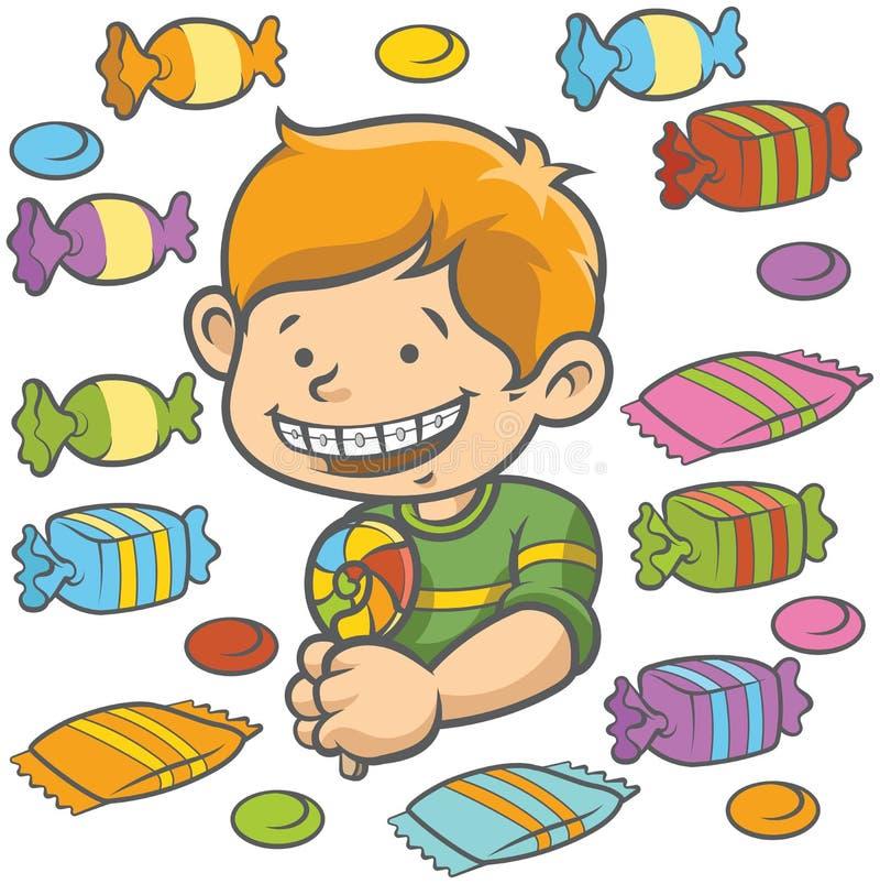 Suikergoed royalty-vrije illustratie