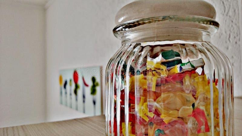 Suikergoed de hele dag stock foto's