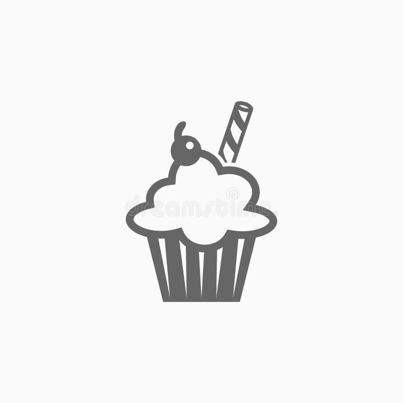 Suikergoed, dessert, snoepjes, gebak, snoepje vector illustratie