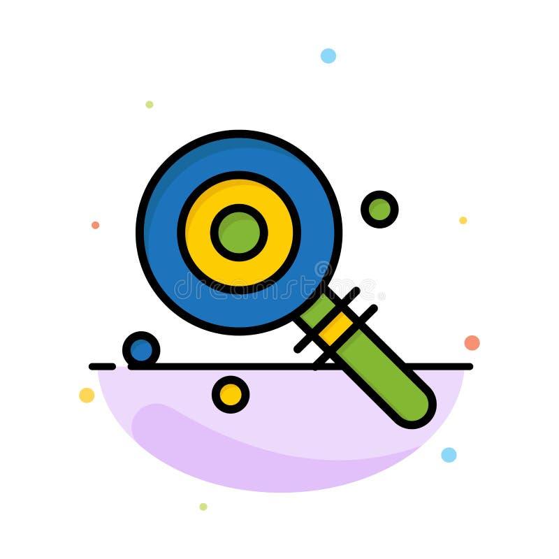 Suikergoed, Lollypop, Lollie, het Zoete Abstracte Vlakke Malplaatje van het Kleurenpictogram royalty-vrije illustratie