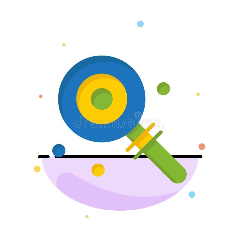 Suikergoed, Lollypop, Lollie, het Zoete Abstracte Vlakke Malplaatje van het Kleurenpictogram vector illustratie