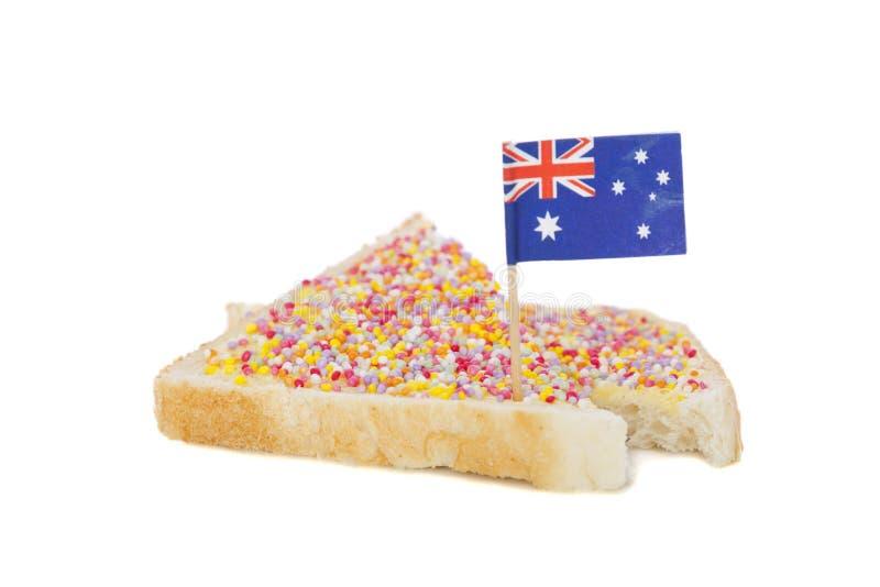 Suikergoed op Brood stock afbeelding