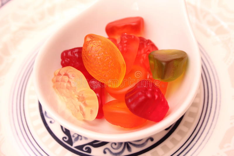 Suikergoed van Gelei stock fotografie