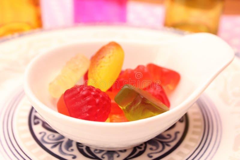 Suikergoed van Gelei stock foto's