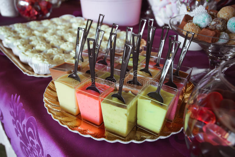 Suikergoedbar stock foto