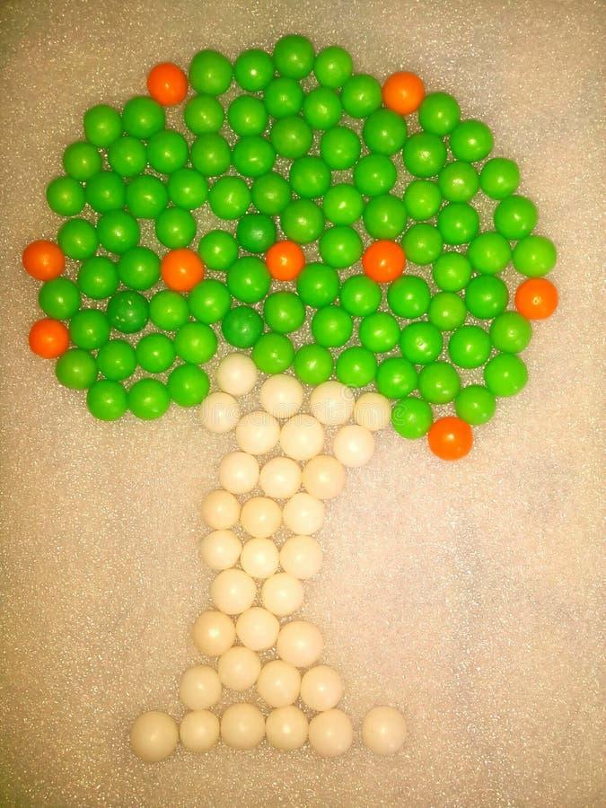 Suikergoedboom stock fotografie