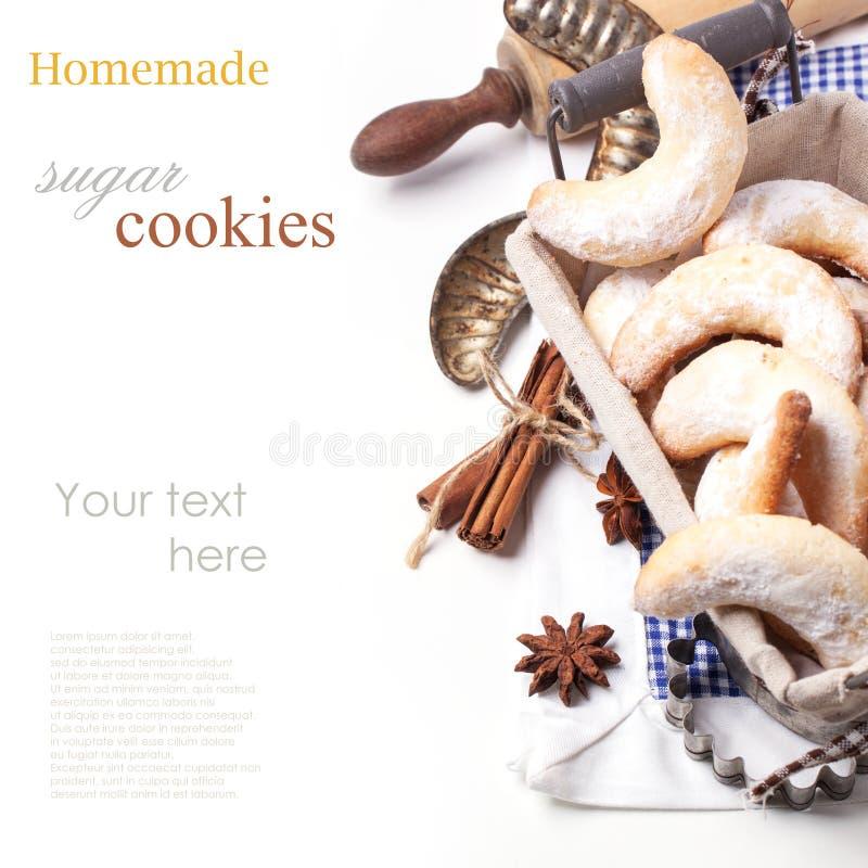 Suikerkoekjes stock foto's