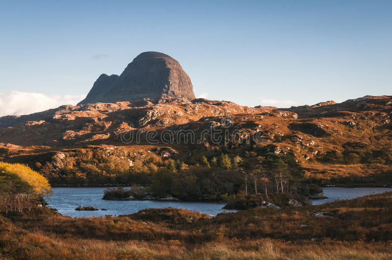 Suilven royalty free stock photo
