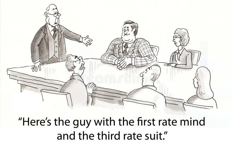 Download Suit stock illustration. Illustration of mind, embarrassing - 23630513