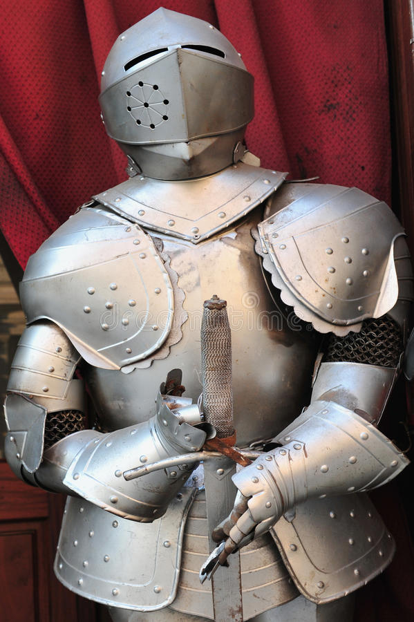Suit of Armor stock photos