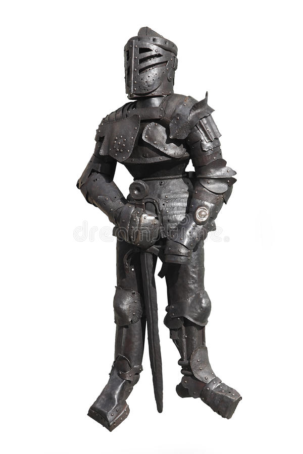 Suit of armour royalty free stock images