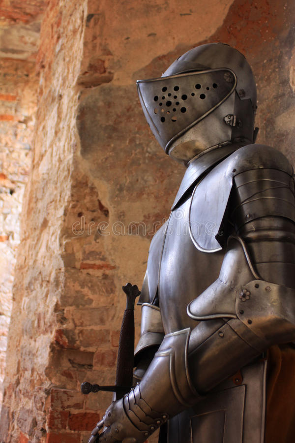 Download Suit of Armour stock image. Image of armour, history - 22930887