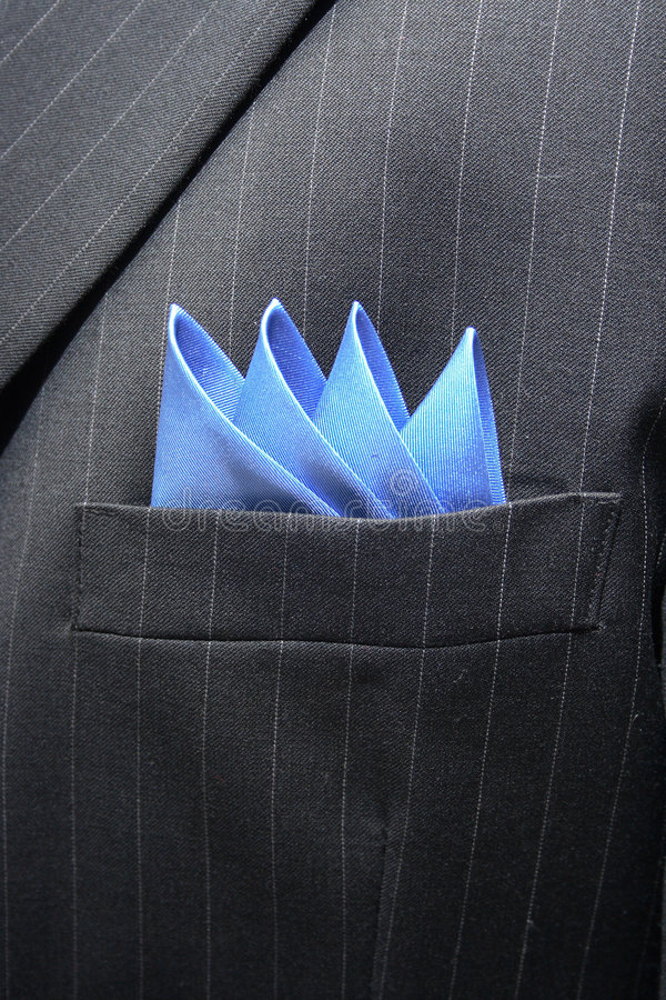 Download Suit Breast Pocket Royalty Free Stock Photos - Image: 1815968