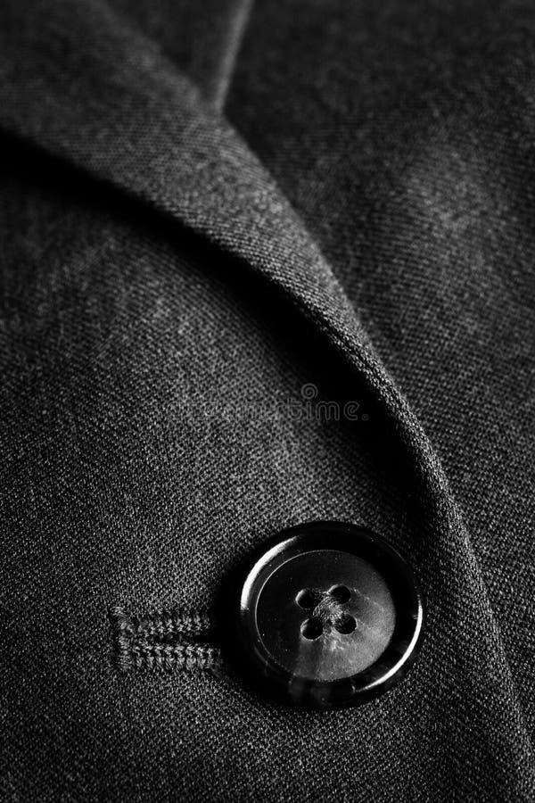 Suit Buttons Business Formal Fashion Wear. Closeup of suit buttons for business or formal wear stock photo