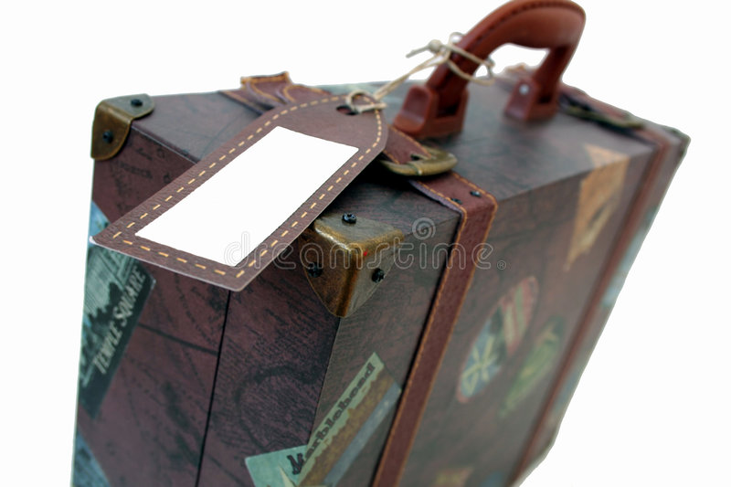 Download Suit Case stock photo. Image of brown, vintage, string - 1120728