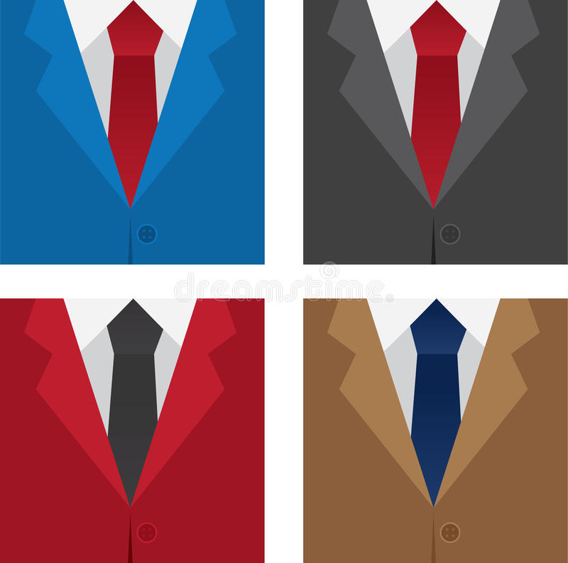 Suit Colors Royalty Free Stock Images
