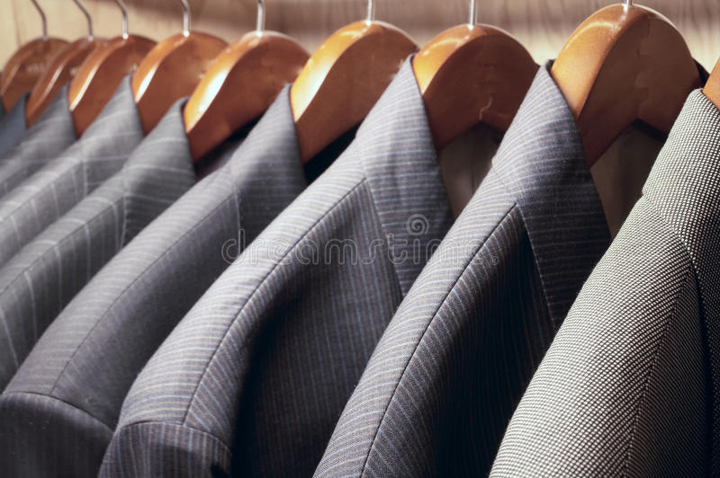 Download Suit jackets stock photo. Image of concepts, hanger, jacket - 10913184