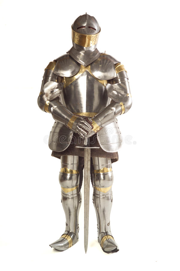 Free Suit Of Armour Royalty Free Stock Photography - 16014237