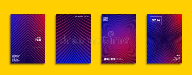 Original new minimal covers design vector illustration
