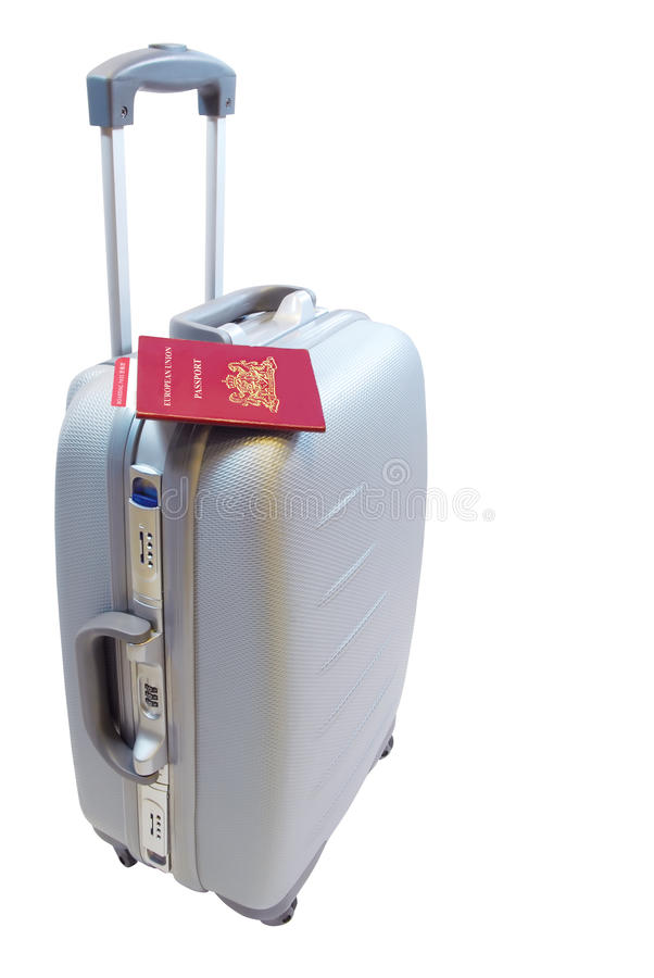 Download Suitcase 2 stock image. Image of trolley, leisure, customs - 10010355