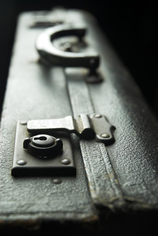 Download Suitcase stock photo. Image of open, black, fasten, macro - 22682732