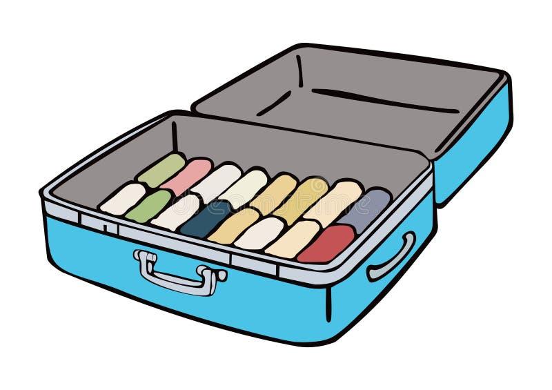 suitcase illustrazione di stock