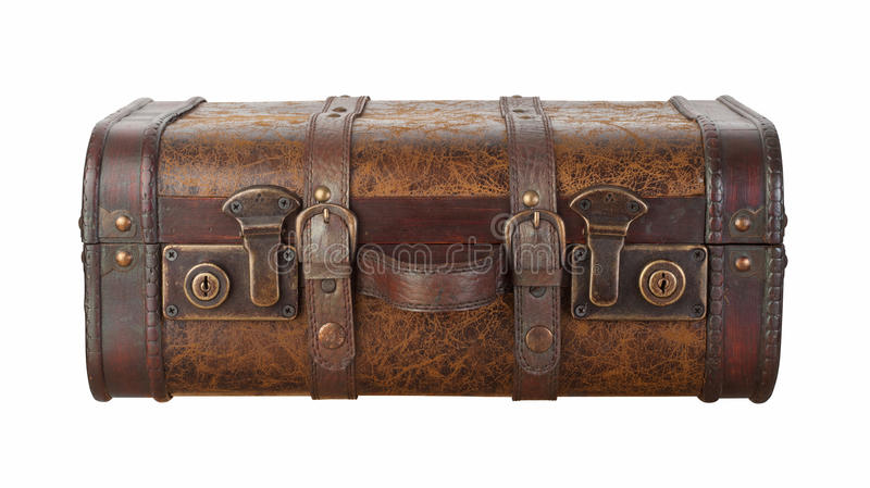 Suitcase Latches Isolated With Clipping Path Royalty Free Stock Photography