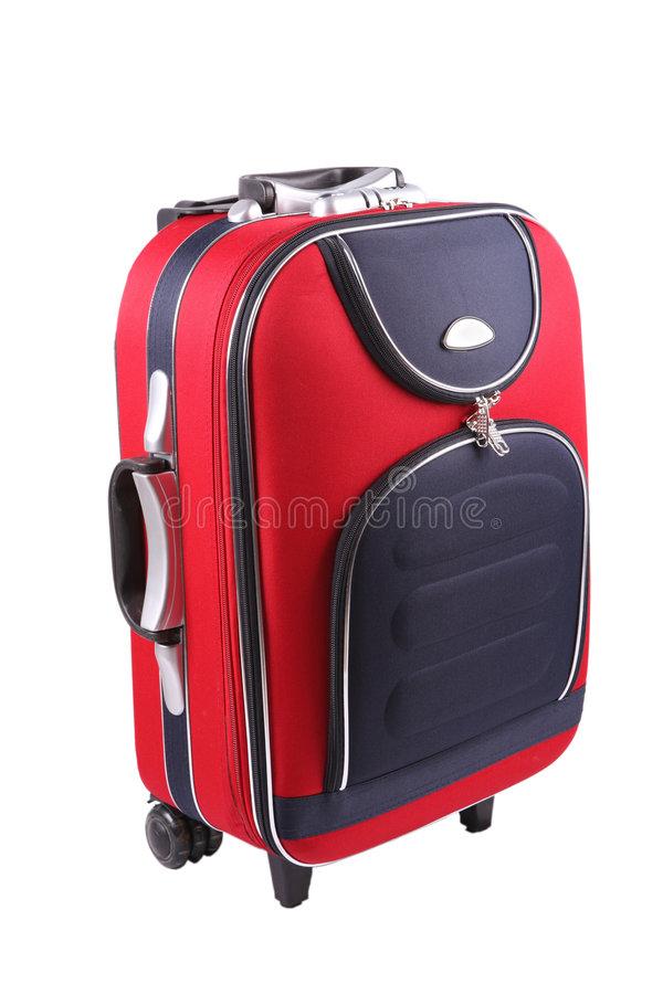 Suitcase luggage stock photo