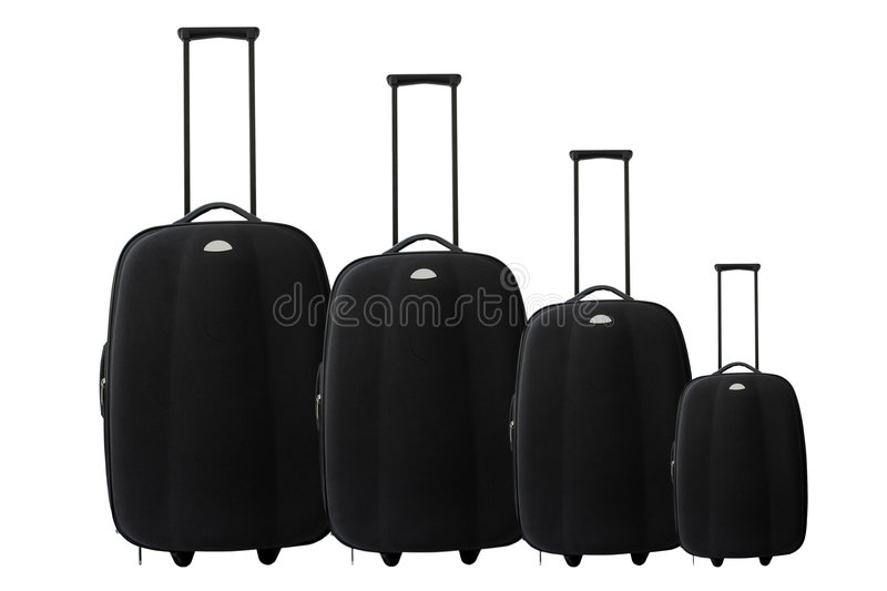 Download Suitcase or trolley Set stock photo. Image of knock, tourism - 6774916