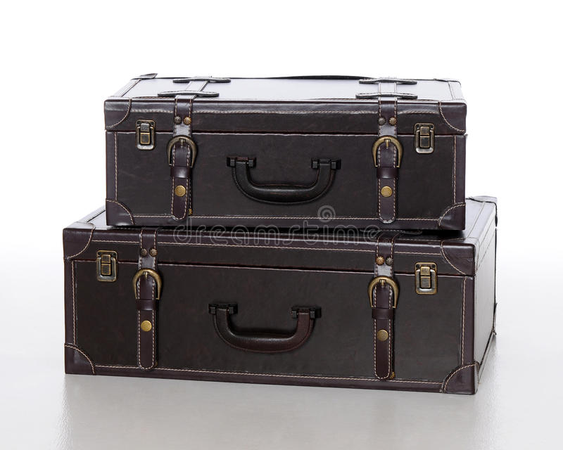 Download Suitcases 002 stock image. Image of straps, latches, leather - 13213345