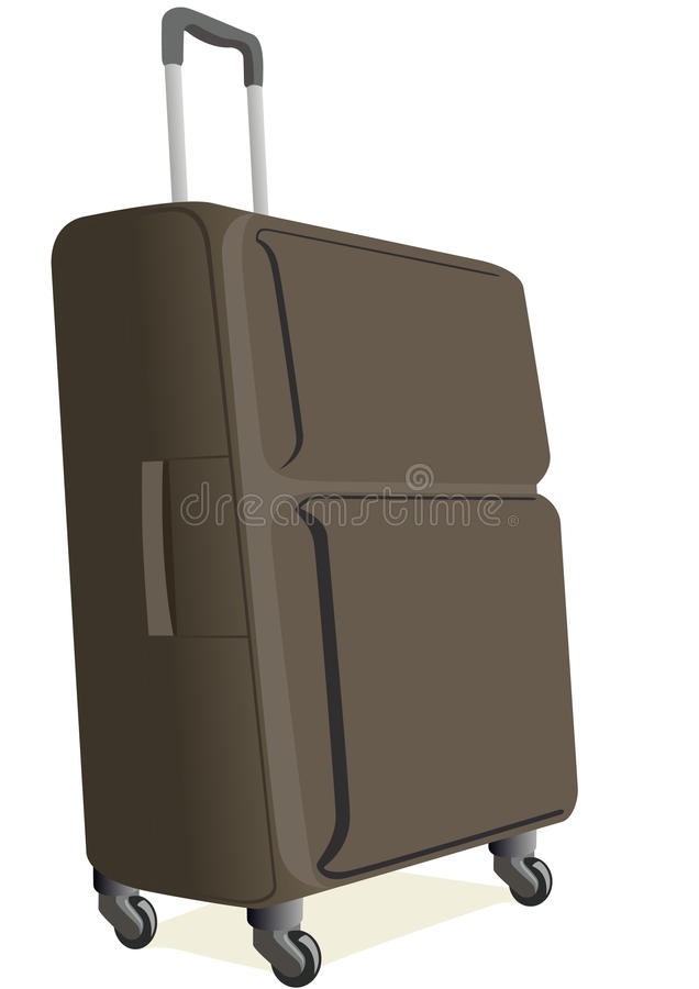 Download Suitcases stock vector. Illustration of suitcase, luggage - 19533809