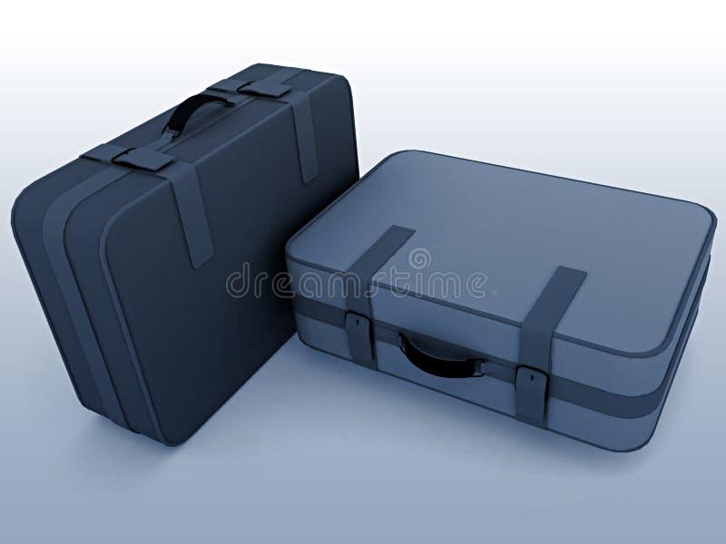 Suitcases Stock Photos