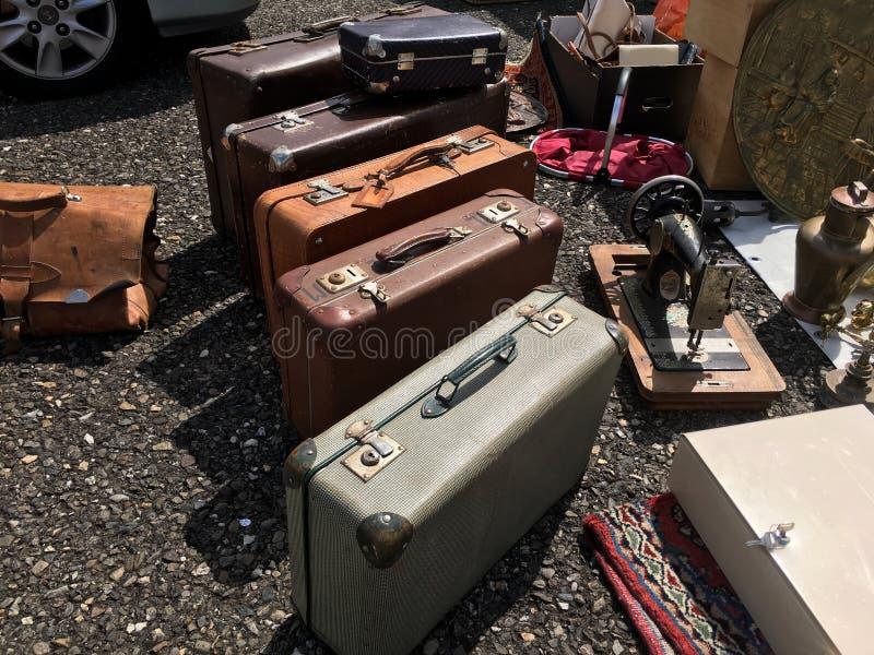 suitcases imagens de stock royalty free