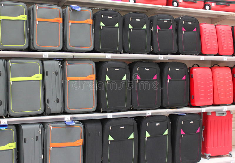 Download Suitcases editorial stock image. Image of brown, gray - 32930714