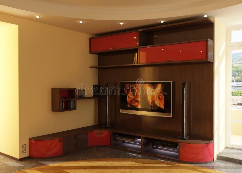 Suite of furniture stock photo