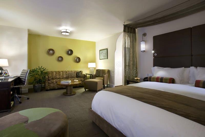 Suiten und Gast-Räume in einem Butike-Hotel lizenzfreie stockfotos
