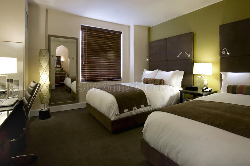 Suites and Guest Rooms in a Boutique Hotel royalty free stock image