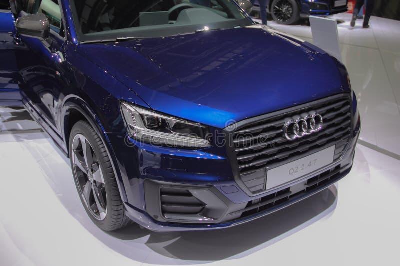 Suiza; Ginebra; 8 de marzo de 2018; Audi Q2 1 Frente de 4 T;  imagen de archivo