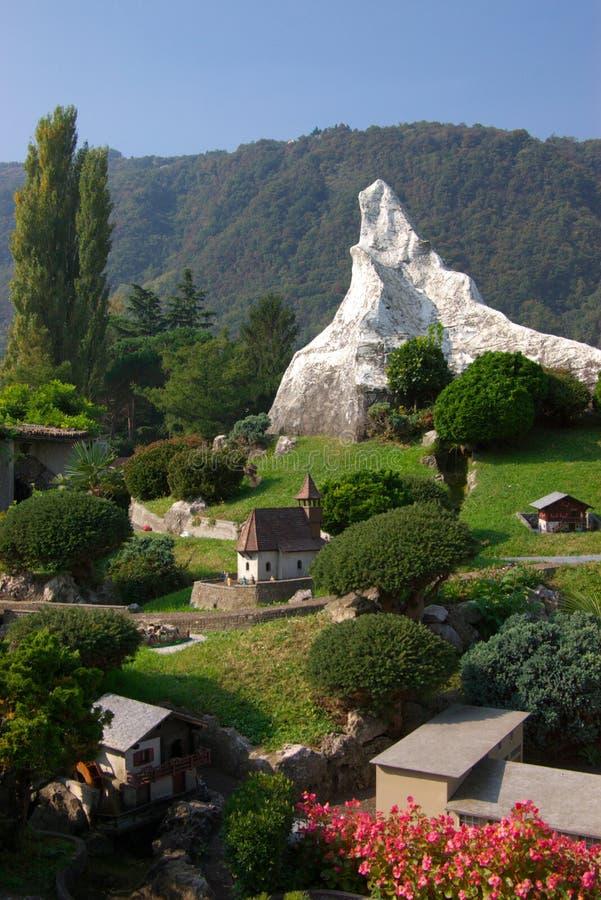 Suiza miniatura imágenes de archivo libres de regalías