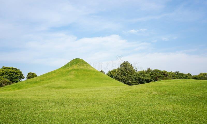 Suizenji-Garten ist ein Garten der geräumigen, japanischen Art Landschafts stockfoto