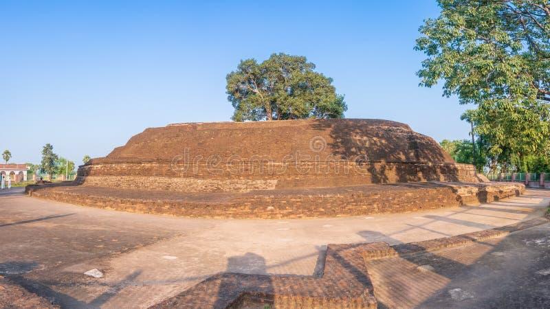 Sujata Kuti Gadh Stupa, gaya del bodh, la India imágenes de archivo libres de regalías