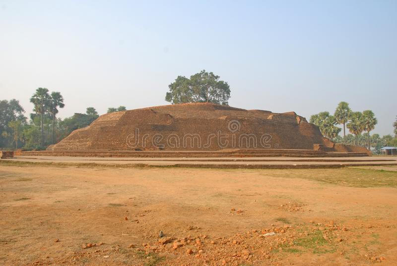 Sujata Stupa в Bodh Gaya, Индии стоковая фотография rf