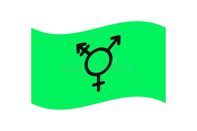 Sujet de symboles de LGBT illustration de vecteur