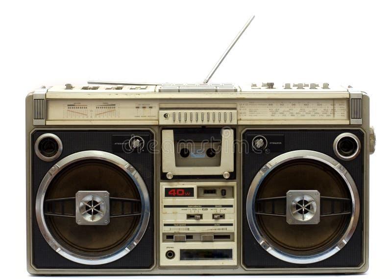 Sujetar con cinta adhesiva-registrador viejo imagen de archivo