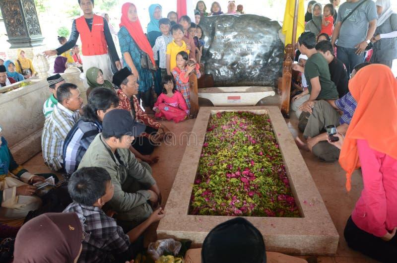 Sukarno Indonesien stockfotos