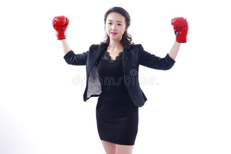 Sukces biznesowe kobiety zdjęcia stock