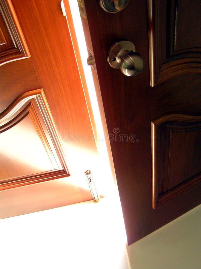 sukces drzwi obrazy royalty free