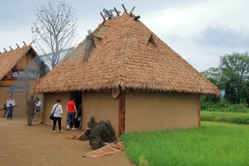 Sukces w poparciu, Chiny liangzhu antycznego miasta miejsca na światowe dziedzictwo liście pozwoli zdjęcie stock