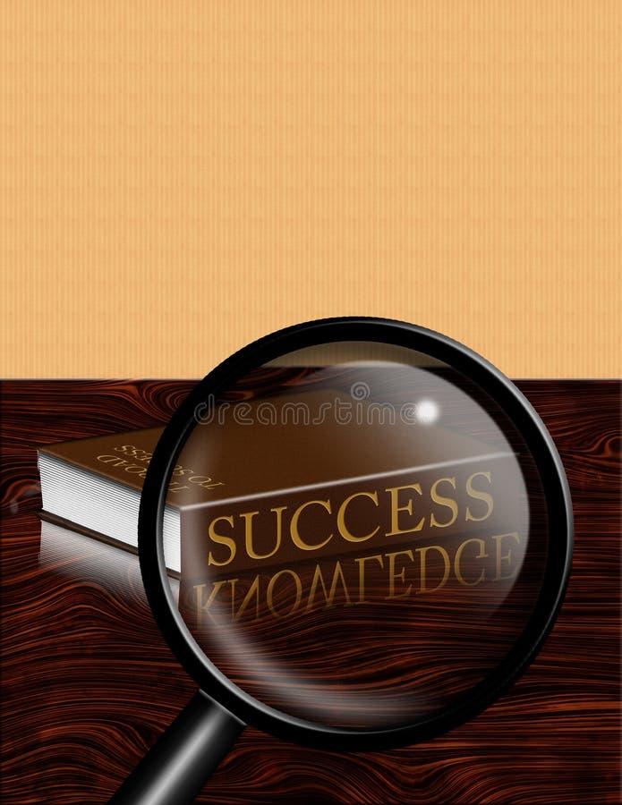 sukces wiedzy ilustracja wektor